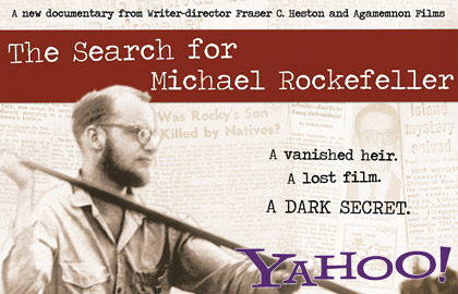 Search for Micheal Rockefeller DVD